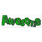 Awesome Graffiti Art Design Sticker (Bumper 10 pk)