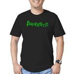 Awesome Graffiti Art Design Men's Fitted T-Shirt (