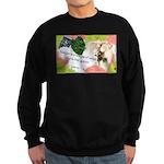 Nature Quote Collage Sweatshirt (dark)