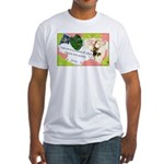 Nature Quote Collage Fitted T-Shirt