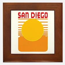 San Diego Framed Tile