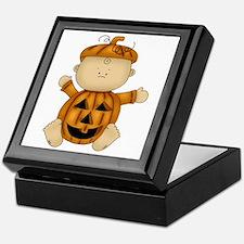 Cute Pumpkin-Baby Keepsake Box