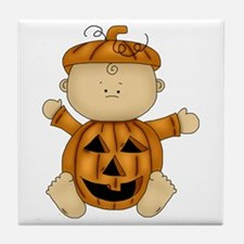 Cute Pumpkin-Baby Tile Coaster