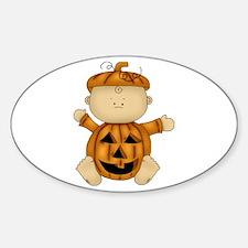 Cute Pumpkin-Baby Decal