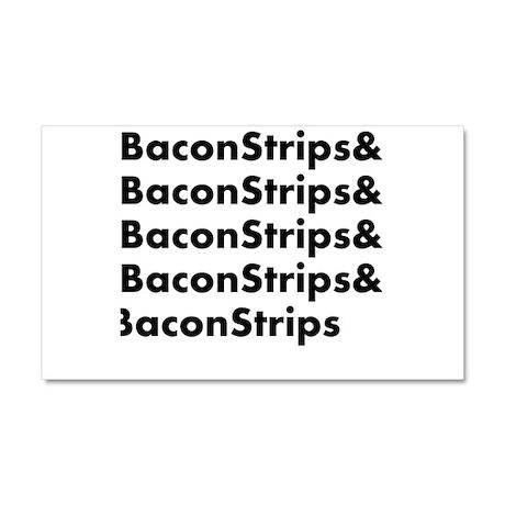 Bacon Strips Car Magnet 20 x 12