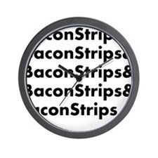 Bacon Strips Wall Clock