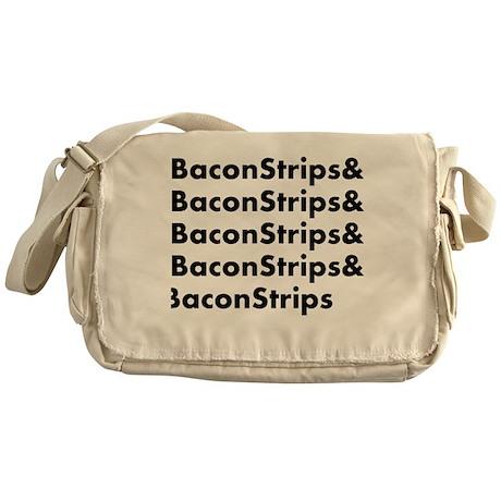 Bacon Strips Messenger Bag