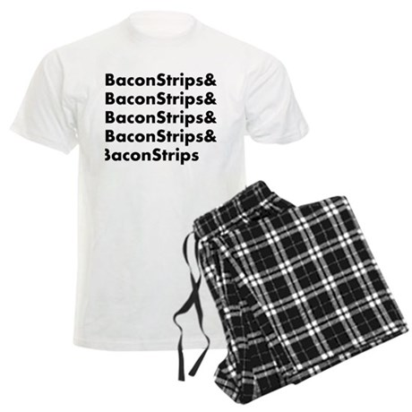 Bacon Strips Men's Light Pajamas
