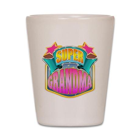 Pink Super Grandma Shot Glass