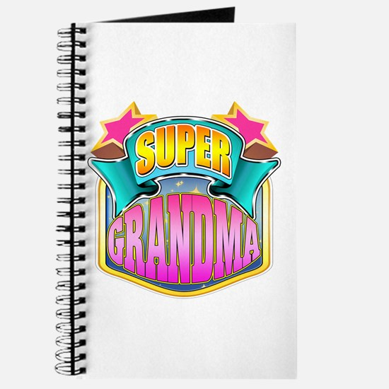 Pink Super Grandma Journal
