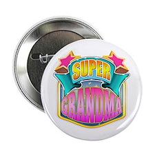 "Pink Super Grandma 2.25"" Button"