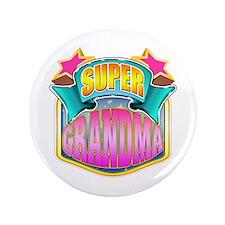 "Pink Super Grandma 3.5"" Button"