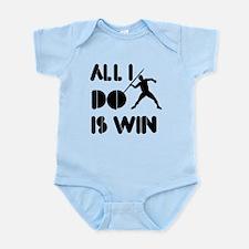 All I do is Win Javelin Infant Bodysuit
