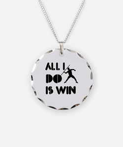 All I do is Win Javelin Necklace