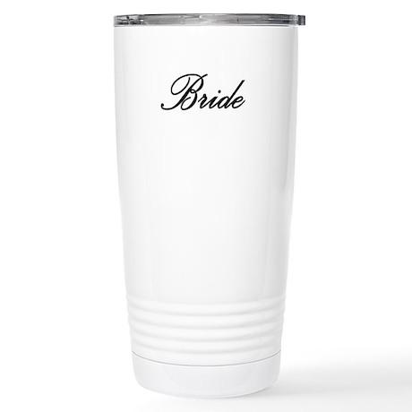"""Bride"" Stainless Steel Travel Mug"