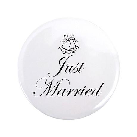 "Wedding 3.5"" Button"