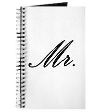 """""""Mr."""" Journal"""