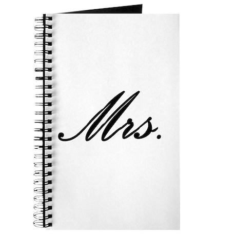 """Mrs."" Journal"