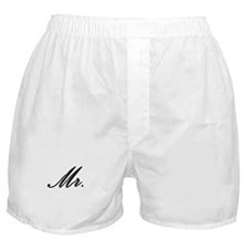 """Mr."" Boxer Shorts"