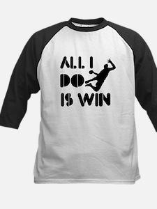 All I do is Win Handball Kids Baseball Jersey