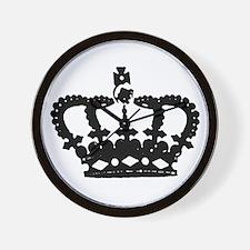 """Crown"" Wall Clock"