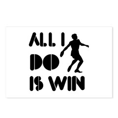 All I do is Win Discus Postcards (Package of 8)