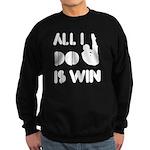 All I do is Win Diving Sweatshirt (dark)