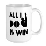 All I do is Win Diving Large Mug