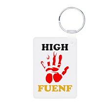 High Fuenf Keychains