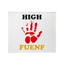High Fuenf Throw Blanket