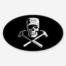 Carpenter of the Caribbean Sticker (Oval)