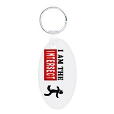 I AM THE INTERSECT Chuck Nin Keychains