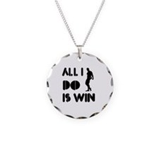 All I do is Win Bodybuilding Necklace