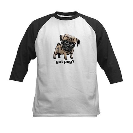 Got Pug Kids Baseball Jersey
