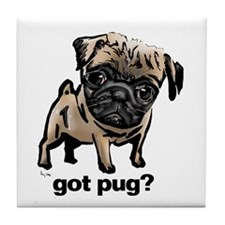 Got Pug Tile Coaster