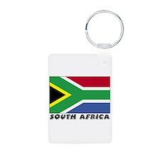 South Africa Flag (World) Keychains