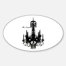 Chandelier Sticker (Oval)