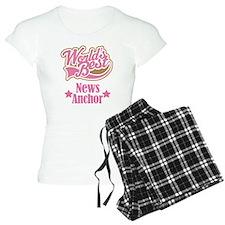News Anchor Gift Pajamas