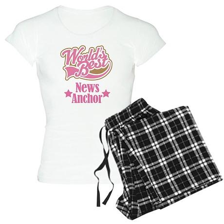 News Anchor Gift Women's Light Pajamas