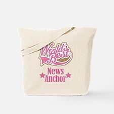 News Anchor Gift Tote Bag