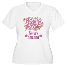 News Anchor Gift T-Shirt