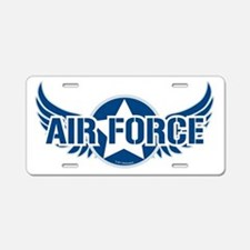 Air Force Wings Aluminum License Plate