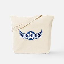 Air Force Wings Tote Bag