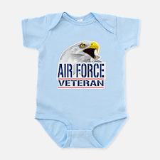 Air Force Veteran Eagle Infant Bodysuit