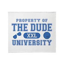 BL: University Throw Blanket