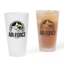 Air Force Eagle Drinking Glass