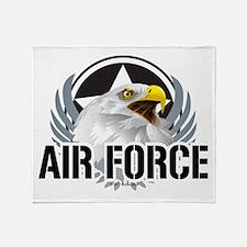 Air Force Eagle Throw Blanket