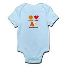 Peace Love Breakfast Infant Bodysuit