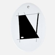 """""""Modern Abstract"""" Ornament (Oval)"""