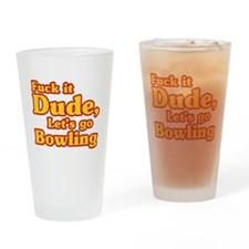 Let's go Bowling - Big Lebowski Drinking Glass